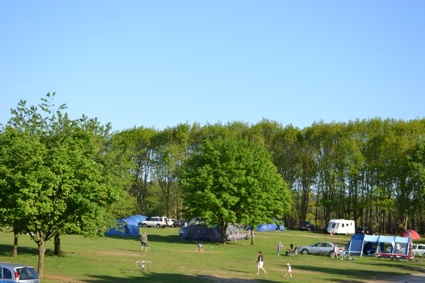 Campsite facing South East