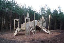 <b>Surrounding Forest Photo:</b><br>Play Areas located at the Rendlesham Forest Centre
